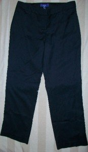 NWT LORRICK Cropped Soft Wool Trouser Pants 8 $258 NEW