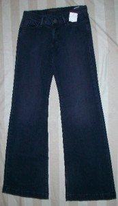 GOLDSIGN LELA Low Rise Boot Cut Jeans 26 32 x34$221 NEW