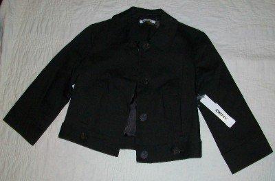 NWT Donna Karan DKNYC 3/4 Sleeve Crop Jacket 4 $179 NEW