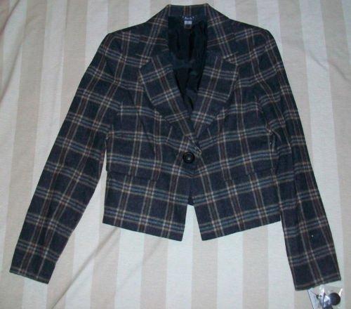 NWT 2 B RYCH Classic Wool Blazer Jacket 6 $320 NEW