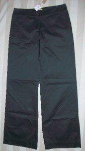 NWT ORGANIC Cotton Wide Leg Trouser Pants 8 32 x34 $198