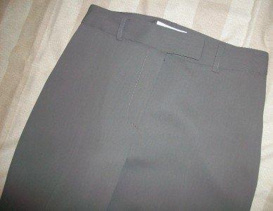 Votre Nom Mink Green Dress Trouser Pants 2 $173 NEW