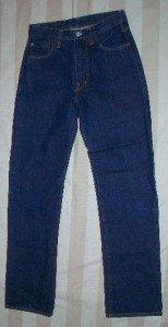 Replay Italy Dark Straight Leg Classic Jeans 28 x 30