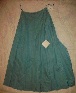 NWT Sutton Studio A-Line Mint Aqua Green Skirt 4 $249