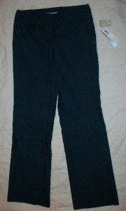 NWT DKNY Blue Wide Leg Beaded Jeans Indigo 4 NEW $99