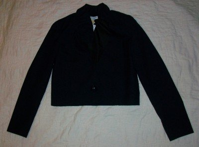 NWT CHRIS BENZ Becky Navy Blazer Jacket 2$1039 NEW