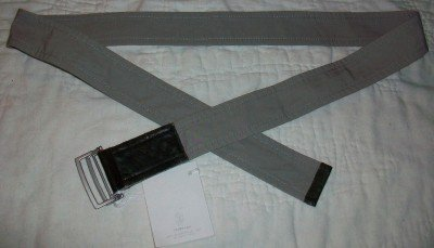 NWT Gunex Cucinelli Italy Leather Wrap Tie Belt 8 $185