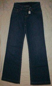 NWT Blujeanious #20924 Wide Leg Jeans 25 26 x32$180 NEW