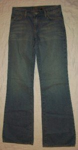 NWT Streets Ahead ST2109 Boot Cut Jeans 25 26 $180 NEW