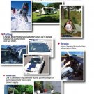Portable Solar Power Panel Kit 40 W Battery+ Charger