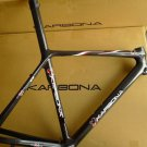 KARBONA Zodiac Carbon Monocoque Roadbike Frame Super Light 1210 gr. 52cm NEW