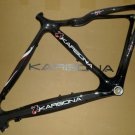 KARBONA CARBON MONOCOQUE ROAD RACING MUSCLE LITE FRAME 55 cm for 700 C NEW