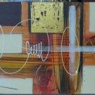 Abstract Medium Cross Acrilyc Bali Painting