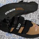 5 10 Five Ten Anasazi VCS Velcro Climbing Shoe sz US 7 to 10.5