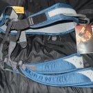 NEW Black Diamond Momentum Blue Denim Rock Climbing Harness XL