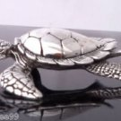 """925 STERLING SILVER TURTLE PENDANT size 1.25"""" x 1.375"""""""