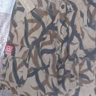 MOLECULE ORIGINAL COTTON CARGO SHORTS BROWN BEIGE SZ L