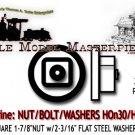 "NBW 1-7/8""NUT w/2-3/16"" FLAT STEEL WASHER (140 nbws) Grandt Line HOn30/HOn3/1:87"