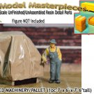 CANVAS COVERED MACHINERY/PALLET (1pc) HO/HOn3/HOn30-Scale Model Masterpieces