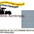 "WAREHOUSE DOORS-""ROLL-UP"" & PERSONNEL DOOR (Masonry-2Sets) Grandt Line-N/Nn3"