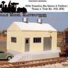 1950s METAL Transition Station & Platform Kit NOS Yorke/SCALE MODEL HOn3/HON30