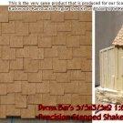 PRECISION STEPPED SHAKE SHINGLES Peel-n-Stik S/Sn3/Sn2 1:64 *NEW*