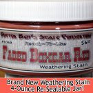 FADED BOXCAR RED WEATHERING STAIN-4oz READY-TO-USE REPLACE FLOQUIL WOOD/N/G/Fn3