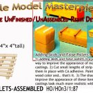 WOODEN FREIGHT PALLETS (8pcs) HO/HOn3/HOn30/1:87 Scale Model Masterpieces