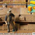 WAREHOUSE SHELVING-PALLETED BOXES/BAGS-OPEN (2pcs) SMM/YORKE O/On3/On30/1:48 *NE