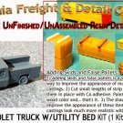 1973 CHEVY PICKUP W/UTILITY BED KIT (1 Kit) N/Nn3-CALIFORNIA FREIGHT & DETAILS
