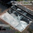 ASH PIT KIT for ROUNDHOUSE/Engine shed-YORKE/Scale Model Masterpieces HO/HOn3/1;87