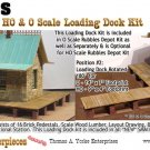 LOADING DOCK KIT YORKE/Scale Model Masterpieces RUBBLES DEPOT HOn3/HOn30*NEW*