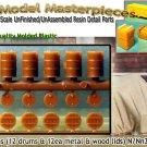 55 GALLON DRUMS w/FIRE BARREL LIDS-(12-Sets) Grandt Line Products N/Nn3/1;160
