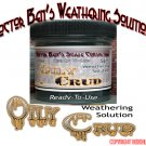 OILY CRUD & WASTE Doctor Ben's READY-TO-USE WEATHERING SOLUTION-4oz O/Sn3 *NEW*