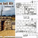 SMALL TOWN STONE JAIL KIT Scale Model Masterpieces/Thomas Yorke S/O/ON3/ON30*NEW