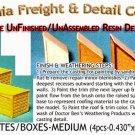 WOOD CRATES/BOXES-MEDIUM (4pcs) Scale Model Masterpieces/Yorke HO/HOn3/HOn30