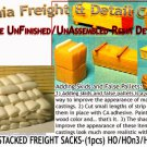 BOX CAR LOAD-STACKED FREIGHT SACKS (1pc) Scale Model Masterpieces HO/HOn3/HOn30