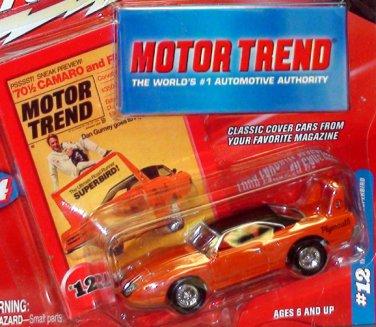 1970 PLYMOUTH SUPERBIRD MOTOR TREND MAGAZINE JOHNNY LIGHTNING 1:64/SN3