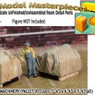 CANVAS COVERED MACHINERY/PALLET #2 (2pcs) Scale Model Masterpieces HO/HOn3/HOn30