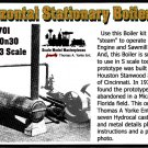 STATIONARY HORIZONTAL BOILER KIT YORKE/Scale Model Masterpieces O/On3/1:48 *NEW*