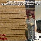 PRECISION SQUARE CITY SHAKE SHINGLES Doctor Ben's Peel-n-Stik S/Sn3/Sn2 1:64