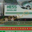 HESS 2001 MINIATURE RACER TRANSPORT~1/87 SCALE UNOPENED MIB!