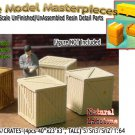 WOODEN BOXES/CRATES-(4pcs) Scale Model Masterpieces S/Sn3/1:64 *NEW*