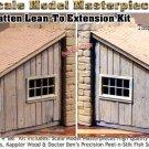 Board n' Batten Lean-To Extension Kit Yorke/Scale Model Masterpieces On3/On30