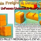 STACKED BOXES-PALLETED/MEDIUM (3pcs) N/Nn3/1:160-Scale CAL FREIGHT