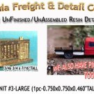 ROOFTOP A/C UNIT #3-LARGE (1pc) N/Nn3/1:160-Scale CAL FREIGHT & CO N/NN3 *NEW*