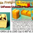 DUMPSTER w/OPEN LID & LOAD (1pc) N/Nn3/1:160-Scale CAL  FREIGHT & DETAILS
