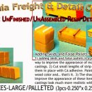 STACKED BOXES-LARGE (3pcs) N/Nn3/1:160-Scale Model MasterpiecesCAL FREIGHT *NEW