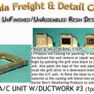 ROOFTOP A/C UNIT /W DUCTWORK #3 (1pc) N/Nn3/1:160-Scale CAL FREIGHT  *NEW*