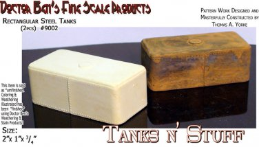 Rectangular Steel Tanks (2pc) Multi Scale Doctor Ben's Scale Consortium HOn30/N